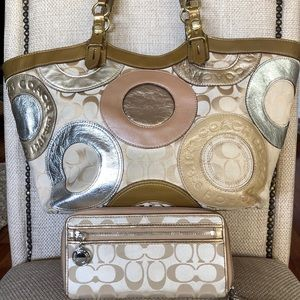 Coach Shoulder Bag and Wallet